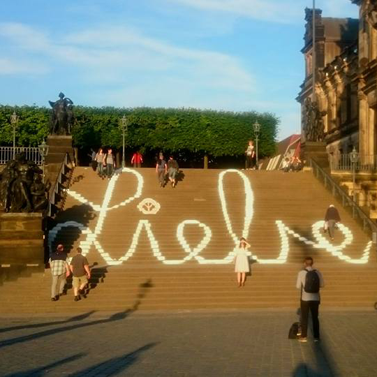 Liebesgrüße aus Dresden